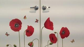 видео Декоративные наклейки на обои: украшаем стены в два счета