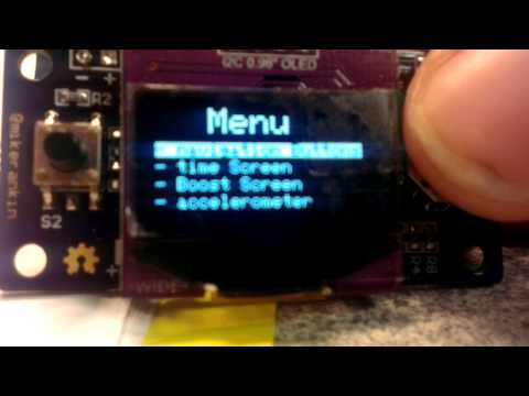 Repeat Arduino OLED Boost Gauge V2 by LibangF15 - You2Repeat