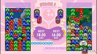 Puyo Pop Fever EN (2006, PSP) - 2 of 4: WakuWaku Course [720p60]