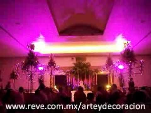 decoracion con leds boda