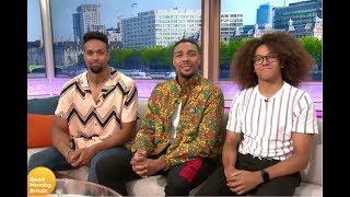 Ashley, Jordan and Perri on Good Morning Britain (FULL in HD)