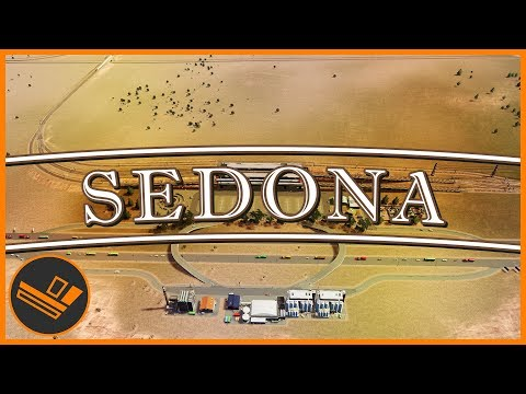 Sedona - Part 34 | AMITY EXCHANGE (Cities: Skylines)