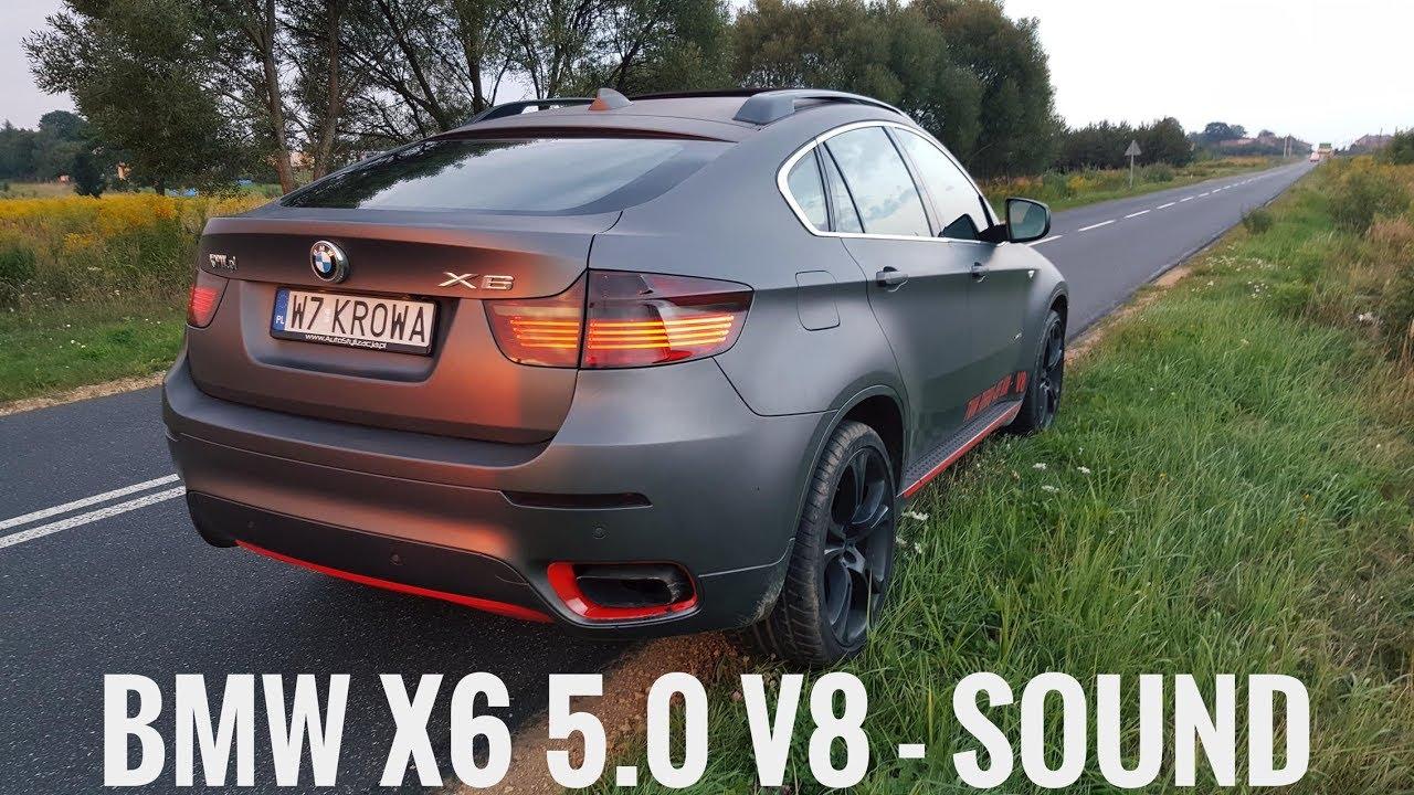 455km Bmw X6 5 0i V8 Twin Turbo Sound Youtube