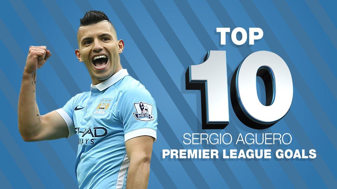 Top 10 Sergio Aguero Premier League Goals