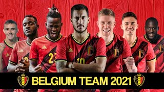 Belgium new squad euro 2021 || team uefa and young players