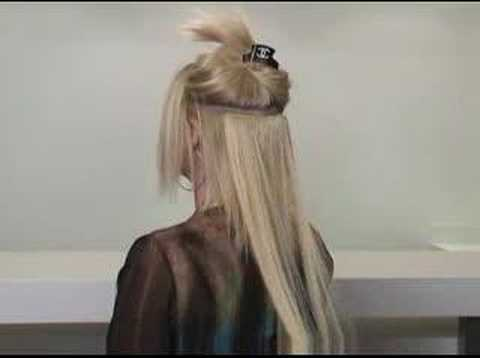How to put on Extend-it clip-on extensions- Premium remy human hair extensions