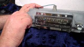 1964 Chrysler Imperial Foot control AM radio