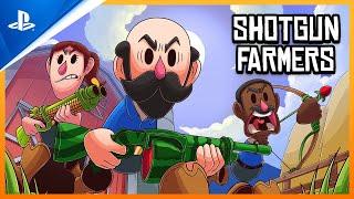 Shotgun Farmers - Launch Trailer | PS4