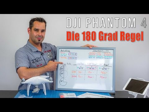 DJI Phantom 4 #28 - ND Filter und die 180 Grad Regel