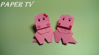 종이접기 채널 [Paper TV] 하마 종이접기 동영상입니다. 구독도 많이 신...