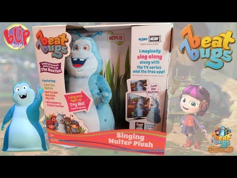 Beat Bugs Plush Toy WALTER Inspired by Music Made Famous by THE BEATLES
