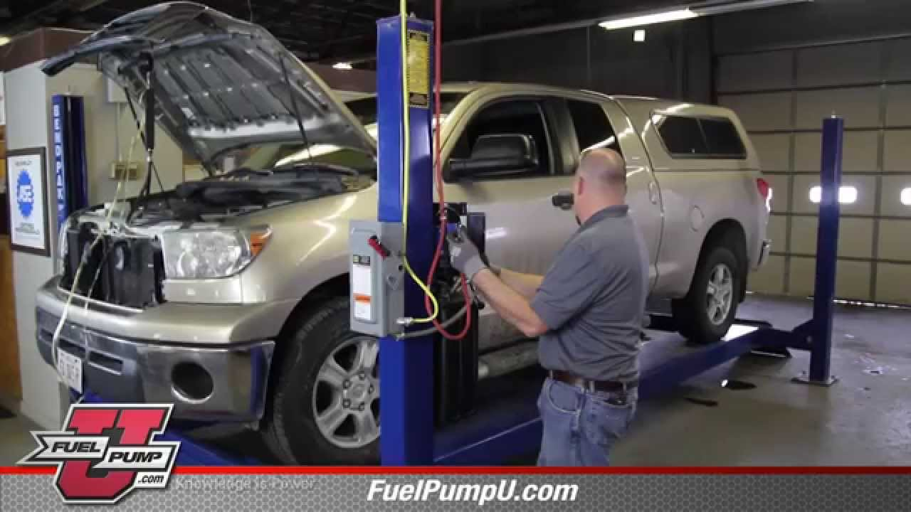how to install fuel pump assembly e8806m in a 2007 2014 toyota tundra youtube [ 1280 x 720 Pixel ]