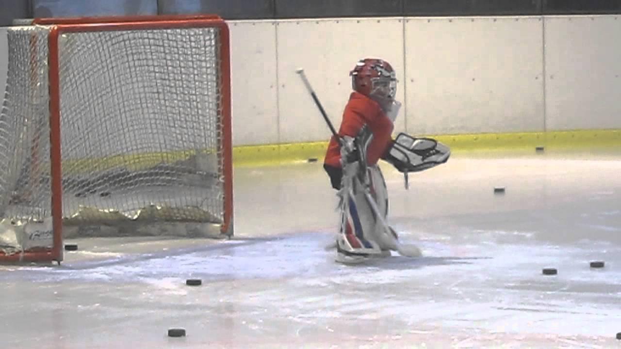5year Old Hockey Goalie Youtube