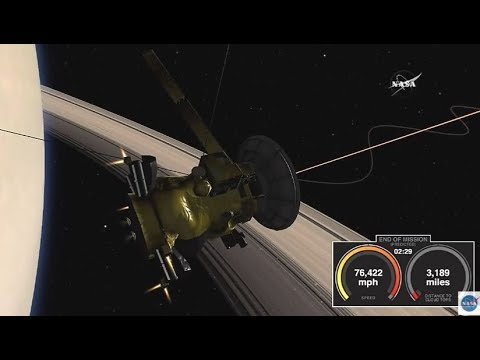 Cassini End Of Mission (Final 7 Minutes Till Loss Of Signal)