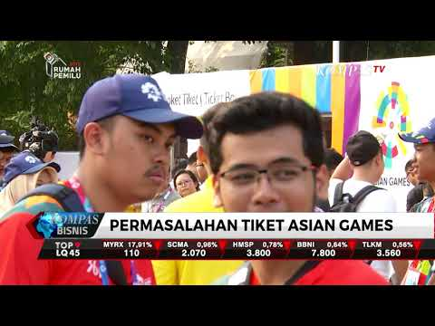 KPK Curigai Penjualan Tiket Asian Games