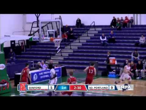 9a13dba98 South Portland  23 Ruay Bol finishes the fastbreak with authority ...