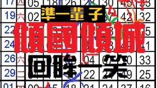12月6日 六合彩 傾國傾城 回眸一笑 ~ 獨碰獨支專車~3星