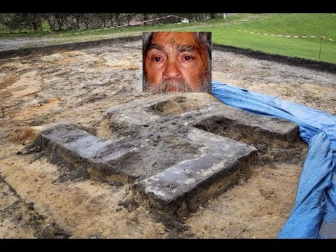 Giant 13x13 Swastika Unearthed! Mansons Demons Didn't Die, They Graduated!!