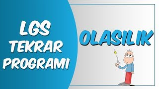 LGS Tekrar Programı Matematik | Olasılık
