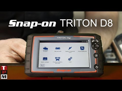 New!! Snapon Triton D8 quick overview and comparison to Modis
