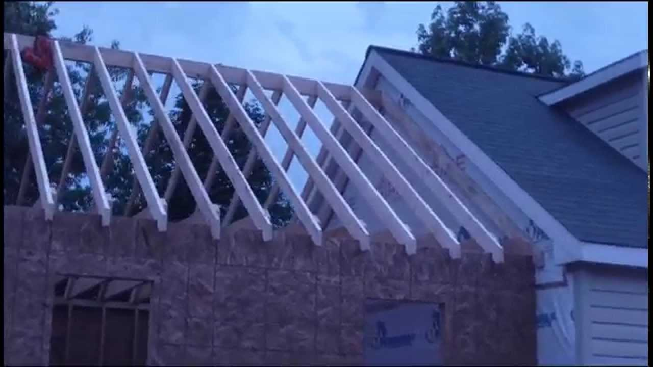 Framing A Cape Cod Roof (1.5 Story)   YouTube
