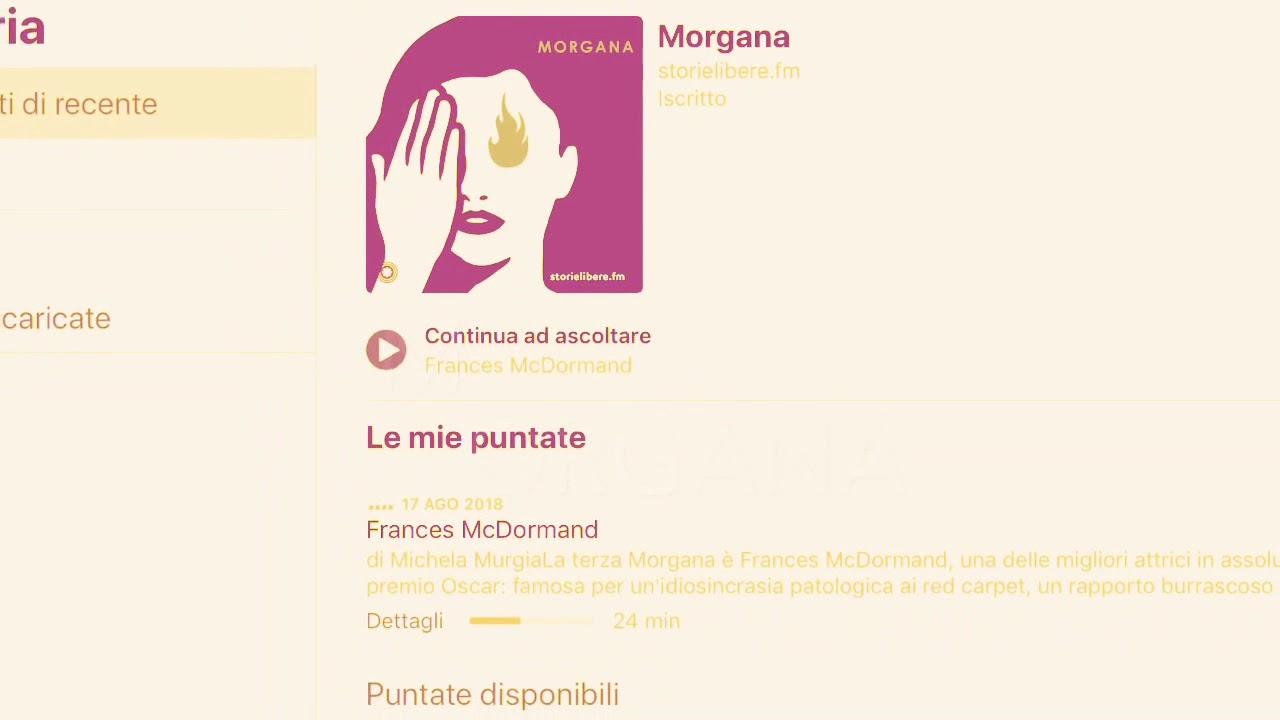 Morgana - Michela Murgia - Podcast - YouTube