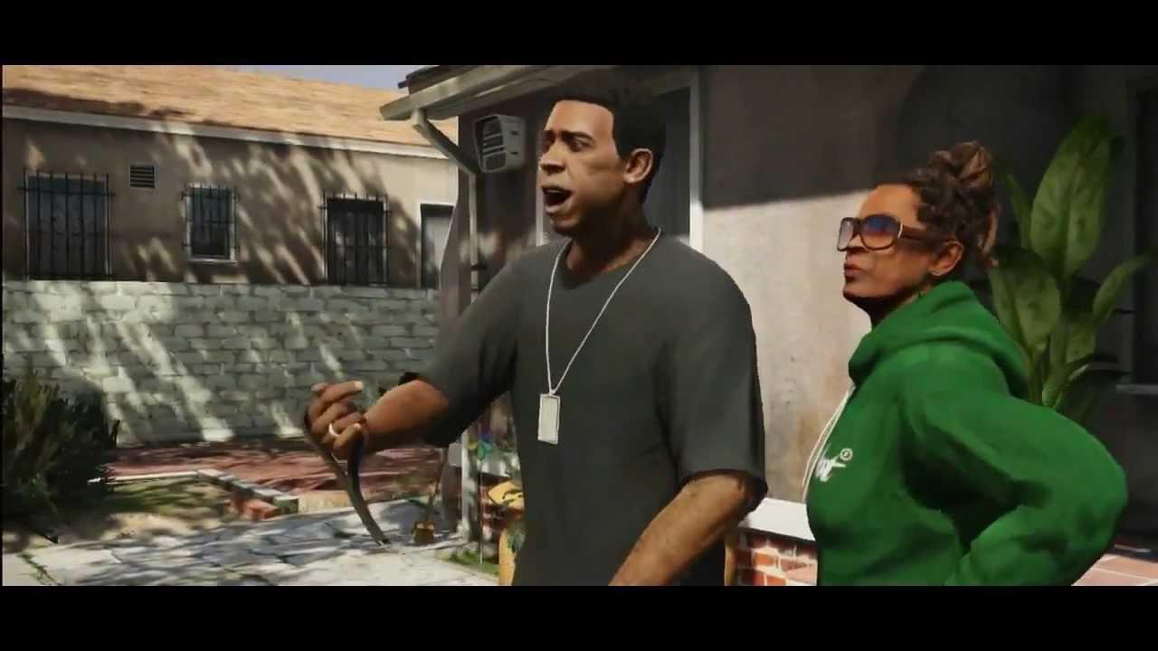 GTA 5 Franklin Trailer - YouTube