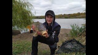спортивная рыбалка на карпа , водоём Лагуна - 2 , г. Запорожье , (впервые на спортивном водоёме)