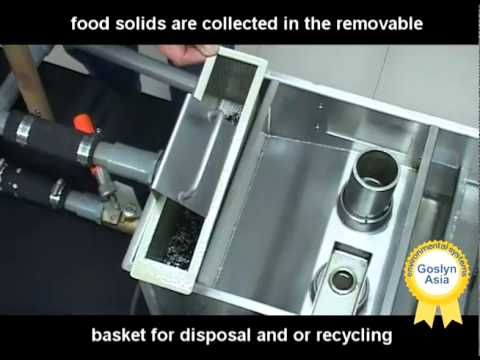 how to use a grease separator