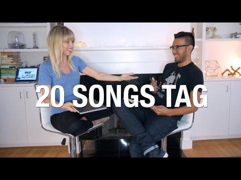 20 songs tag ft. mi precioso! | Superholly