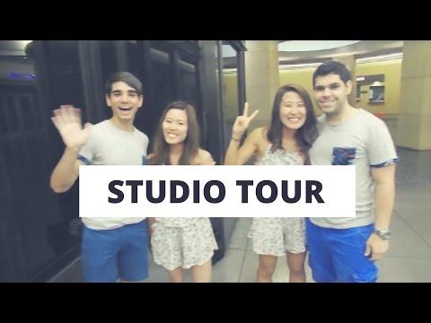 Studio Tour!  Jason Caceres