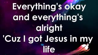Jesus in my life (Hillsong Kids) Lyric Video w/ moving background