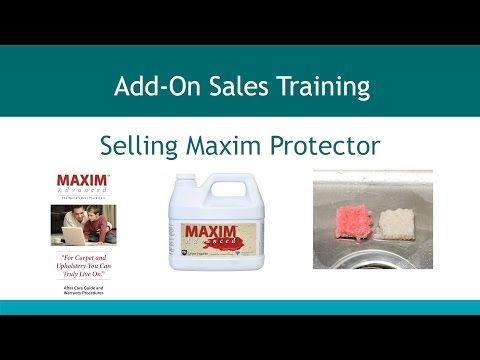 Add On Sales - Section 4 - Selling Maxim Protector