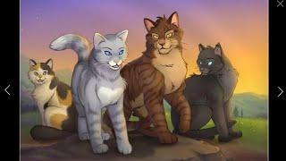 Игра CatWar. Коты - воители. Посвящение в ученицы. Лунное племя.