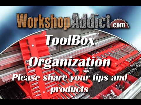 portable tool box organization ideas 1