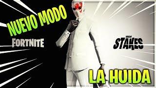 TODAS LAS NOVEDADES DEL NUEVO MODO LA HUIDA// NUEVA ACTUALIZACION FORTNITE BATTLE ROYALE