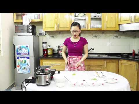 BBcooker 10: Cách nấu món cháo thịt bò đậu hà lan