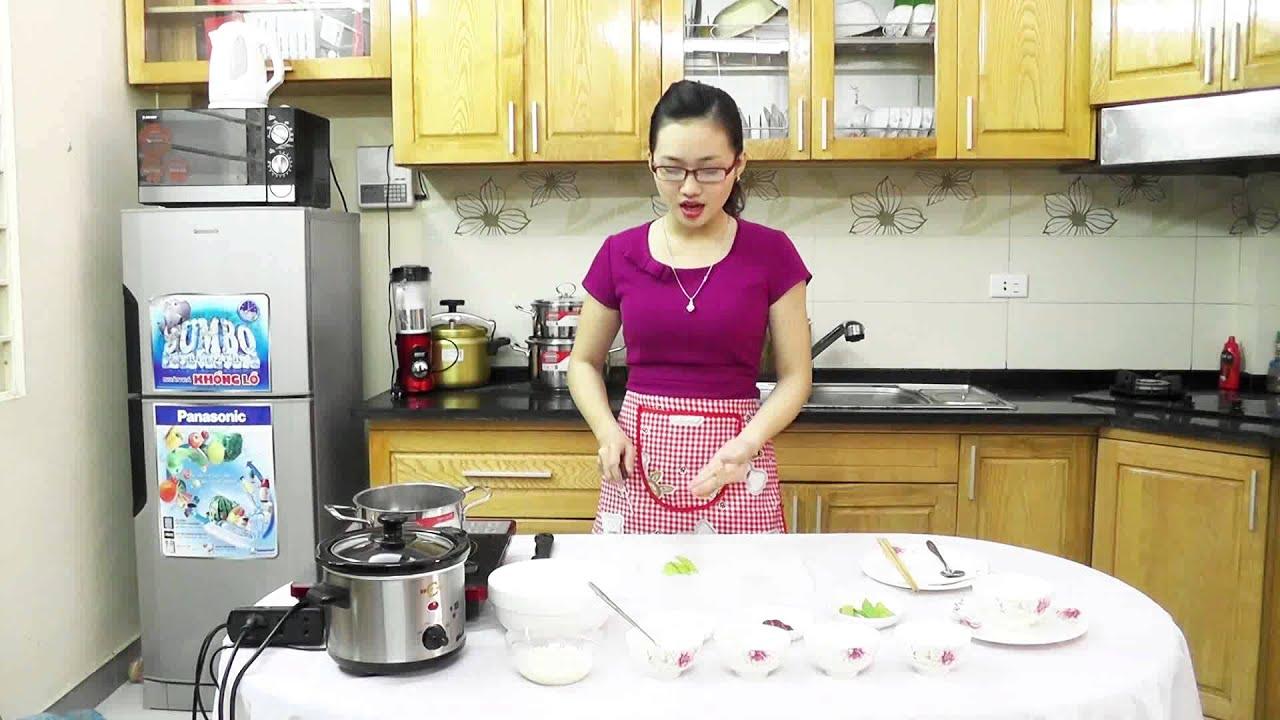 Series nấu cháo cùng BBcooker : Cách nấu món cháo thịt bò đậu hà lan