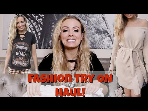 Fashion Try on Haul! Sabo Skirt & Life Clothing Co. 2019 | Annelise Jr.