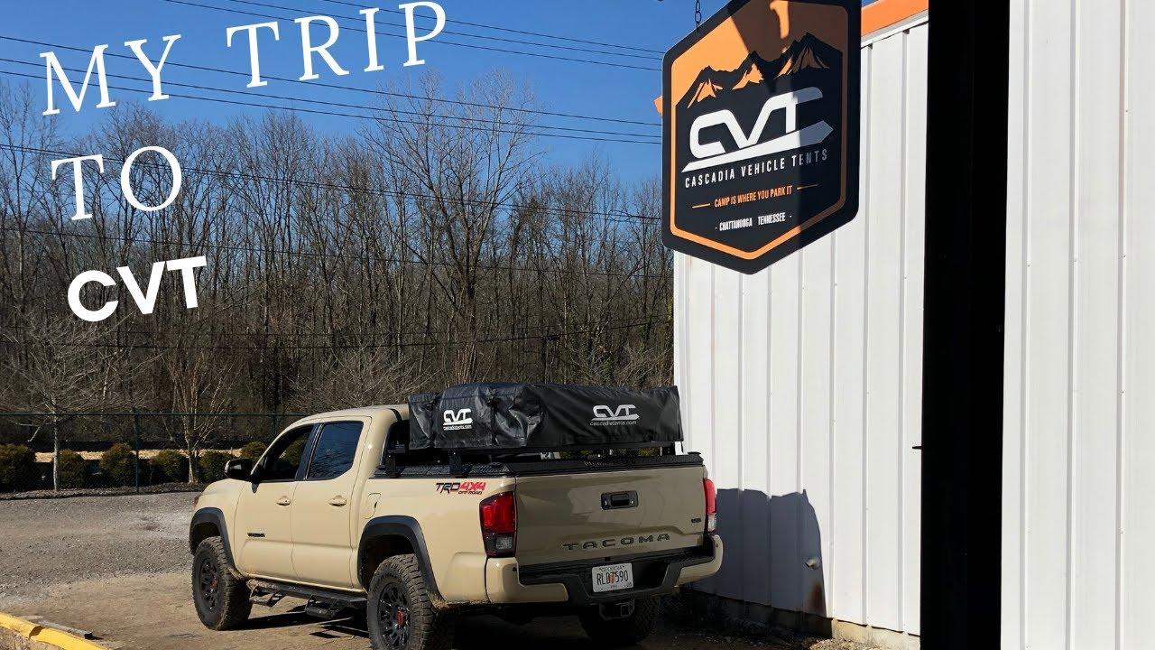 Trip To CVT - My Rooftop Tent Setup - KB Voodoo - Diamondback