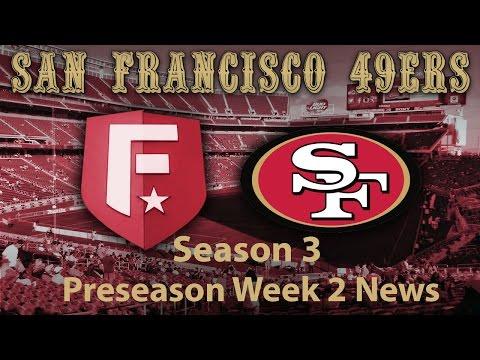 Madden 17 Franchise Mode: 49ers - Preseason Week 2 News [HD 1080]
