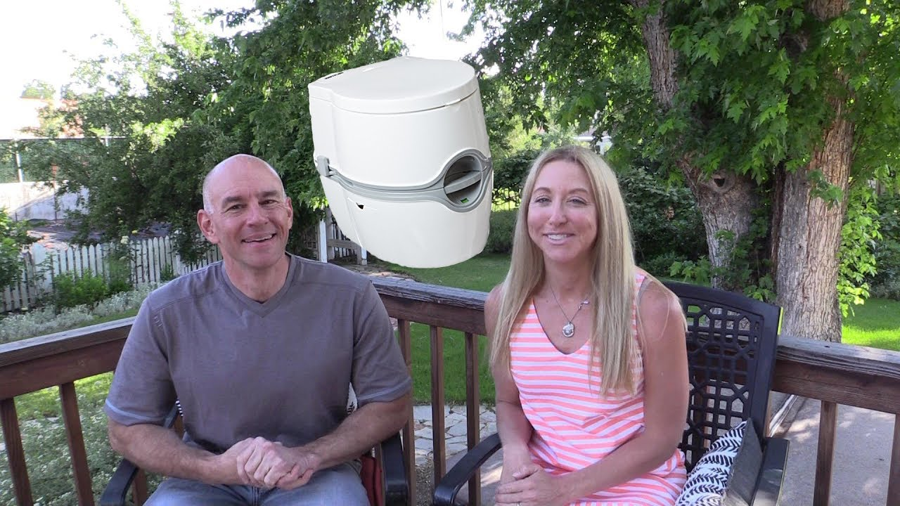 We Try a Cassette Toilet in our RV - YouTube
