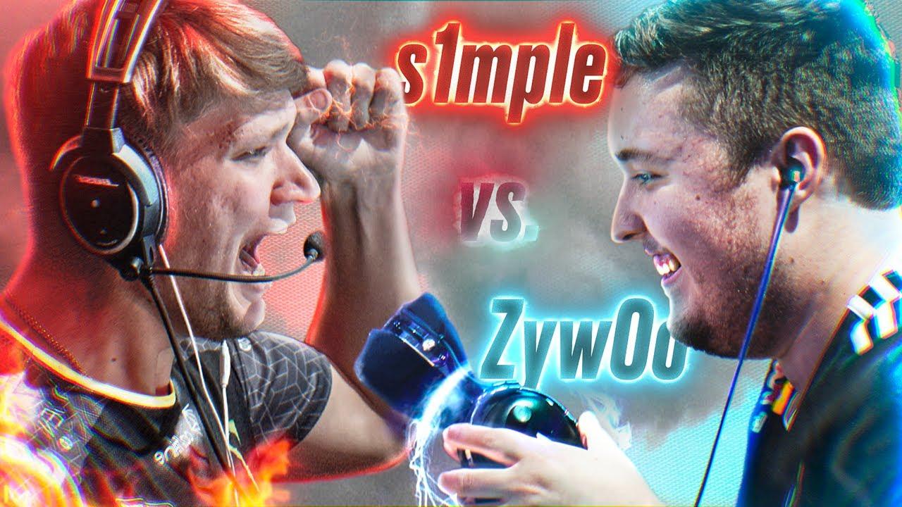 S1MPLE vs ZYWOO! БОЙ ГОДА!