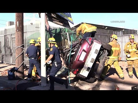 Fatal Physical Rescue / North Hollywood   RAW FOOTAGE