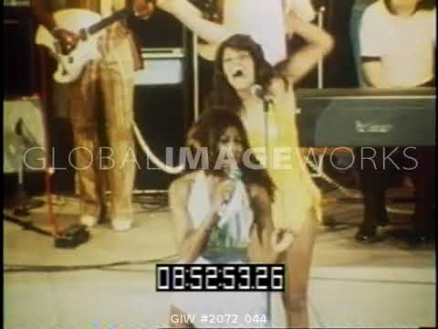 Ike and Tina Turner - I Wanna Take You Higher (Clip) - Monticello Raceway (1973)
