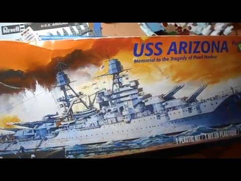 U.S.S. Arizona Ship Model Kit By Revell Overview