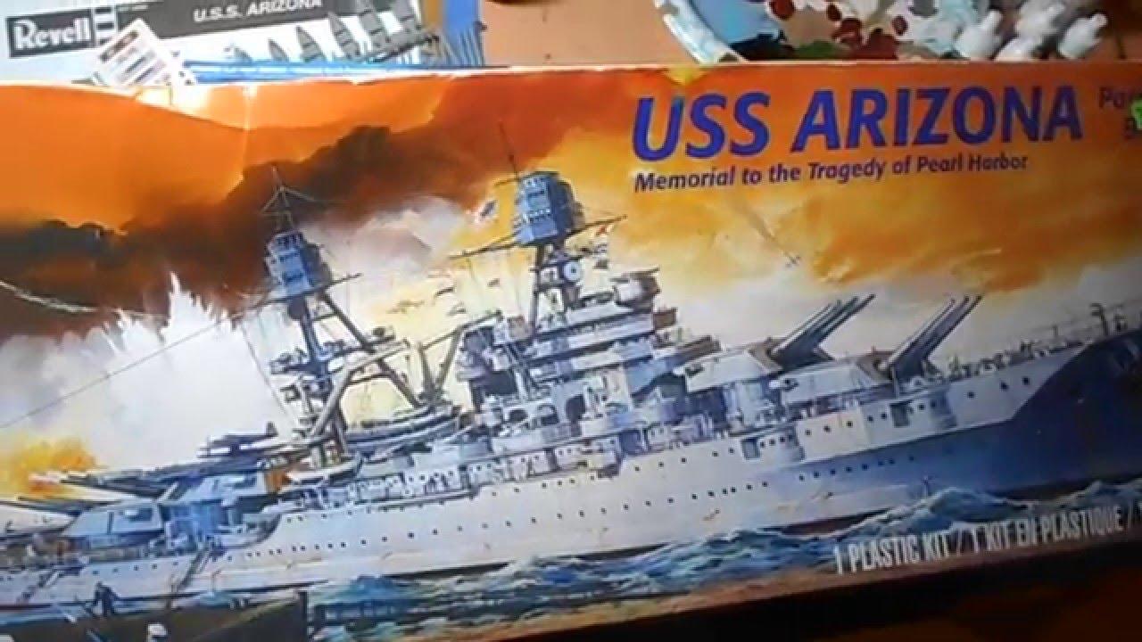 U S S  Arizona Ship Model Kit By Revell Overview