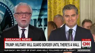 Jim Acosta loses connection during CNN interview, appears to imply foul play
