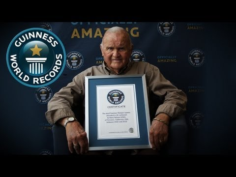 Harry Nelson -- Most Summer Olympic Games Attended -- Guinness World Records