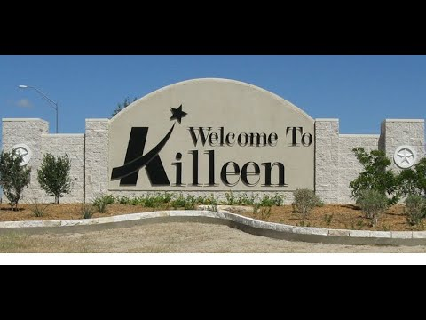 Killeen Tx 4K - Drive Through K Town